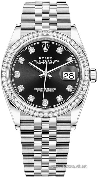 Rolex » Datejust » Datejust 36mm Steel and White Gold » 126284RBR-0019
