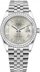Rolex » Datejust » Datejust 36mm Steel and White Gold » 126284RBR-0021