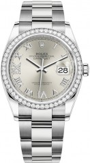 Rolex » Datejust » Datejust 36mm Steel and White Gold » 126284rbr-0022