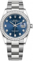 Rolex » Datejust » Datejust 36mm Steel and White Gold » 126284rbr-0030