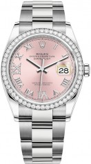 Rolex » Datejust » Datejust 36mm Steel and White Gold » 126284rbr-0024