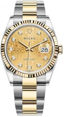 Rolex » Datejust » Datejust 36mm Steel and Yellow Gold » 126233-0034