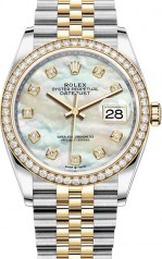 Rolex » Datejust » Datejust 36mm Steel and Yellow Gold » 126283rbr-0009