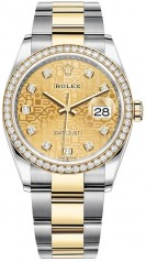 Rolex » Datejust » Datejust 36mm Steel and Yellow Gold » 126283rbr-0020