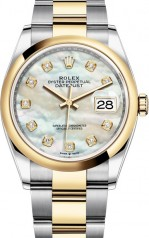 Rolex » Datejust » Datejust 36mm Steel and Yellow Gold » 126203-0024