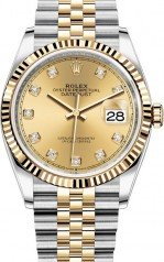 Rolex » Datejust » Datejust 36mm Steel and Yellow Gold » 126233-0017