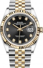 Rolex » Datejust » Datejust 36mm Steel and Yellow Gold » 126233-0021