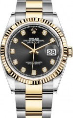 Rolex » Datejust » Datejust 36mm Steel and Yellow Gold » 126233-0022
