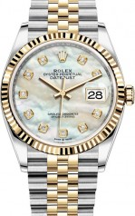 Rolex » Datejust » Datejust 36mm Steel and Yellow Gold » 126233-0023