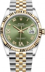 Rolex » Datejust » Datejust 36mm Steel and Yellow Gold » 126233-0025