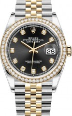 Rolex » Datejust » Datejust 36mm Steel and Yellow Gold » 126283RBR-0007