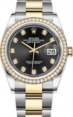 Rolex » Datejust » Datejust 36mm Steel and Yellow Gold » 126283rbr-0008