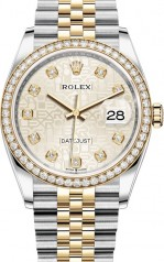 Rolex » Datejust » Datejust 36mm Steel and Yellow Gold » 126283rbr-0013