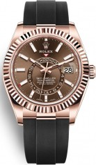 Rolex » Sky-Dweller » Sky-Dweller 42mm Everose Gold » 326235-0005