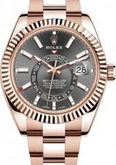 Rolex » Sky-Dweller » Sky-Dweller 42mm Everose Gold » 326935-0007