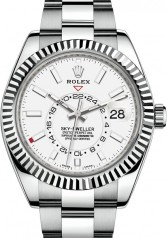 Rolex » Sky-Dweller » Sky-Dweller 42mm Steel and White Gold » 326934-0001