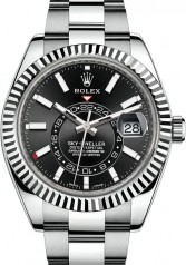 Rolex » Sky-Dweller » Sky-Dweller 42mm Steel and White Gold » 326934-0005