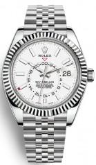 Rolex » Sky-Dweller » Sky-Dweller 42mm Steel and White Gold » 326934-0002