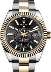 Rolex » Sky-Dweller » Sky-Dweller 42mm Steel and Yellow Gold » 326933-0002