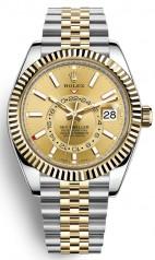 Rolex » Sky-Dweller » Sky-Dweller 42mm Steel and Yellow Gold » 326933-0004