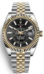 Rolex » Sky-Dweller » Sky-Dweller 42mm Steel and Yellow Gold » 326933-0005