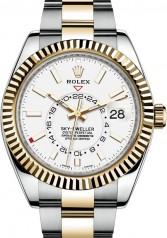 Rolex » Sky-Dweller » Sky-Dweller 42mm Steel and Yellow Gold » 326933-0009