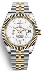 Rolex » Sky-Dweller » Sky-Dweller 42mm Steel and Yellow Gold » 326933-0010