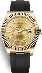 Rolex » Sky-Dweller » Sky-Dweller 42mm Yellow Gold » 326238-0007