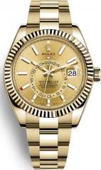 Rolex » Sky-Dweller » Sky-Dweller 42mm Yellow Gold » 326938-0003