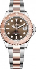 Rolex » Yacht-Master » Yacht-Master 37mm Everose Gold and Steel » 268621-0003