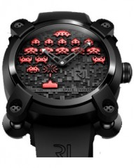 Romain Jerome » _Archive » Capsules Space Invaders 46 mm » RJ.M.AU.IN.006.06