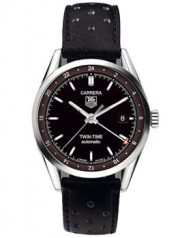 TAG Heuer » Carrera » Calibre 7 Twin Time Automatic 39 mm » WV2115.FC6180