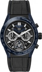 TAG Heuer » Carrera » Tete de Vipere Chronograph Tourbillon Chronometer » CAR5A93.FC6442