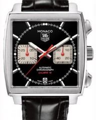TAG Heuer » Monaco » Calibre 12 Automatic Chronograph 39 mm » CAW2114.FC6177