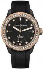 Ulysse Nardin » Diver » Lady Diver 39 mm » 8165-182B-3/BLACK