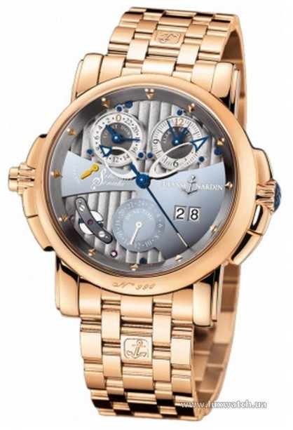 Ulysse Nardin » _Archive » Classic Sonata Cathedral Dual Time » 676-88-8/212