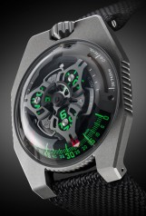Urwerk » 100 Collection » UR-100 » UR-100 GunMetal