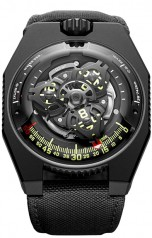 Urwerk » 100 Collection » UR-100 » UR-100 SpaceTime Black