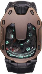 Urwerk » 105 collection » UR-105 The Hour Glass » Urwerk UR-105 The Hour Glass