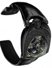 Urwerk » 106 collection » 106 Lotus » UR-106 Lotus Black Diamonds