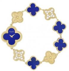 Van Cleef & Arpels » _Archive » Alhambra Vintage Bracelet » Sweet Alhambra Lapis Lazuli