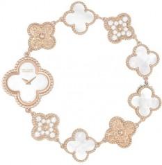 Van Cleef & Arpels » _Archive » Alhambra Vintage Bracelet » Sweet Alhambra White