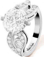 Van Cleef & Arpels » Jewelry » Aladdin Solitaire Rings » VCARP12O00
