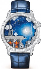 Van Cleef & Arpels » Poetic Complication » Midnight Poetic Wish » VCARO8T300