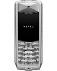 Vertu » _Archive » Ascent Aluminium » Aluminium, Stainless Steel Keys, Brown Leather