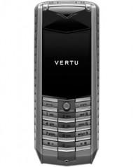 Vertu » _Archive » Ascent Titanium » Titanium, Stainless Steel, Red Leather
