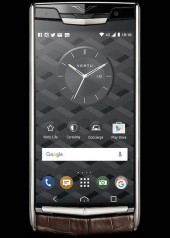Vertu » New Signature Touch » Cocoa Alligator » 602423-001-01