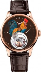 Zenith » _Archive » Academy Christophe Colomb Fire Rooster - 45.00 » 18.2215.8804/72.C713
