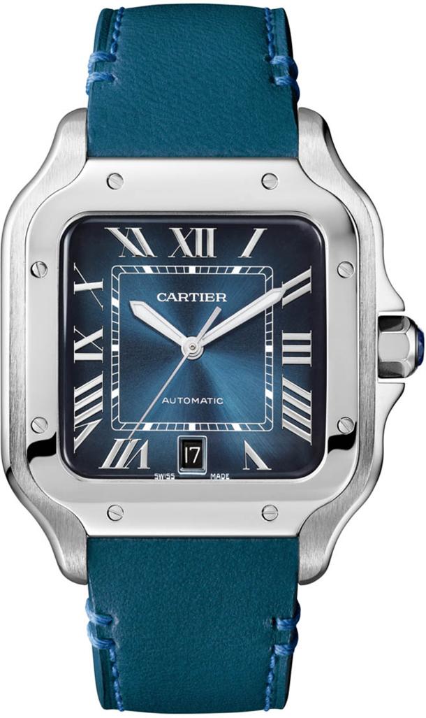 Santos-de-Cartier-Large-Model-Gradient-Blue-SIHH-2019-2