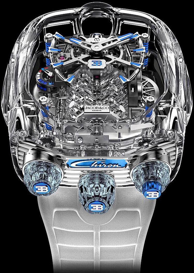 Jacob-Co Bugatti Chiron Tourbillon Timepiece Limited Editions -1